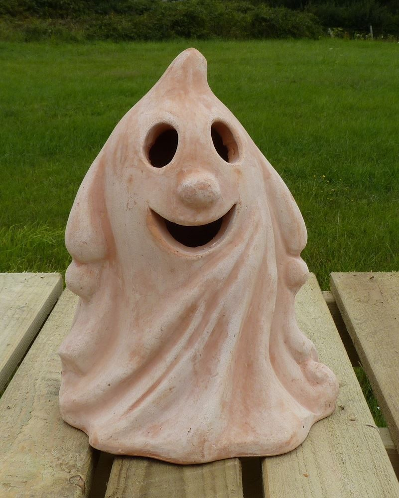 Ghoul terracotta lantern