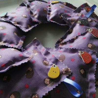 hedgehog lavender bags
